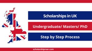 Fully Funded UK Scholarship